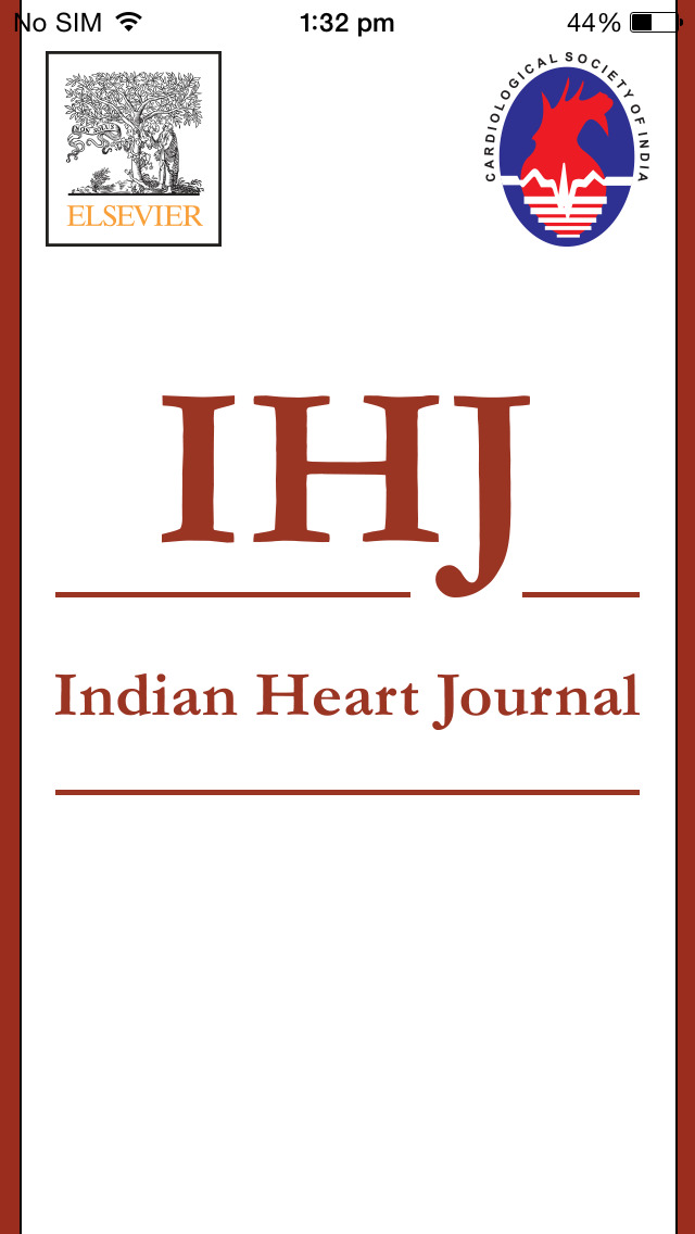 Indian Heart Journal screenshot 1