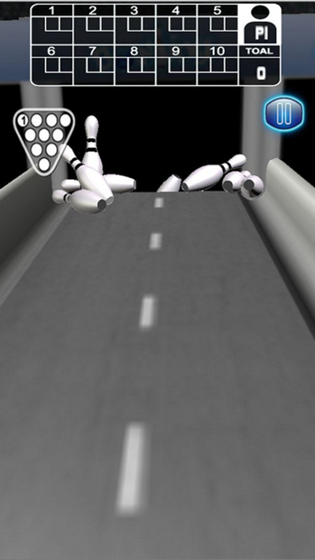 Strike Pin Bowling 3D - Pro screenshot 2