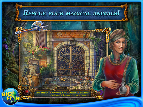 Spirits of Mystery: The Dark Minotaur HD - A Hidden Object Game with Hidden Objects (Full) screenshot 2