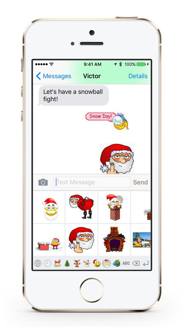 Christmas GIF Keyboard screenshot 4
