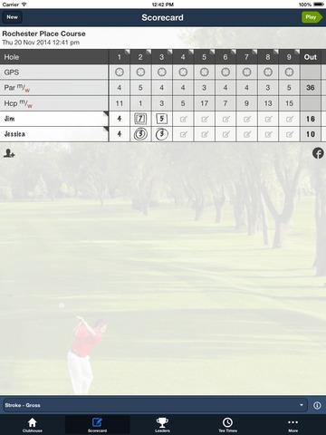 Rochester Place Golf Course screenshot 9