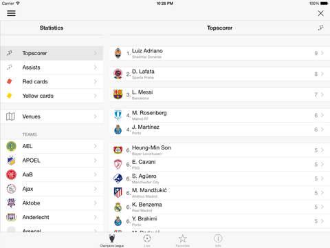 Champions League Live screenshot #4