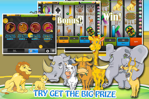 """""""AA African Safari Video Slots: Play Free Vegas St - náhled"""