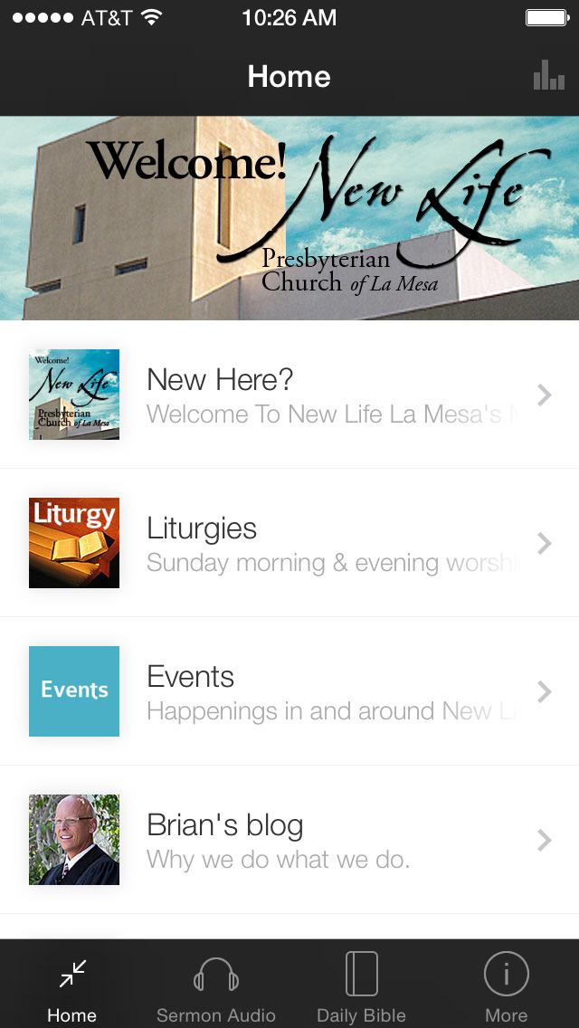 New Life La Mesa Presbyterian screenshot 1