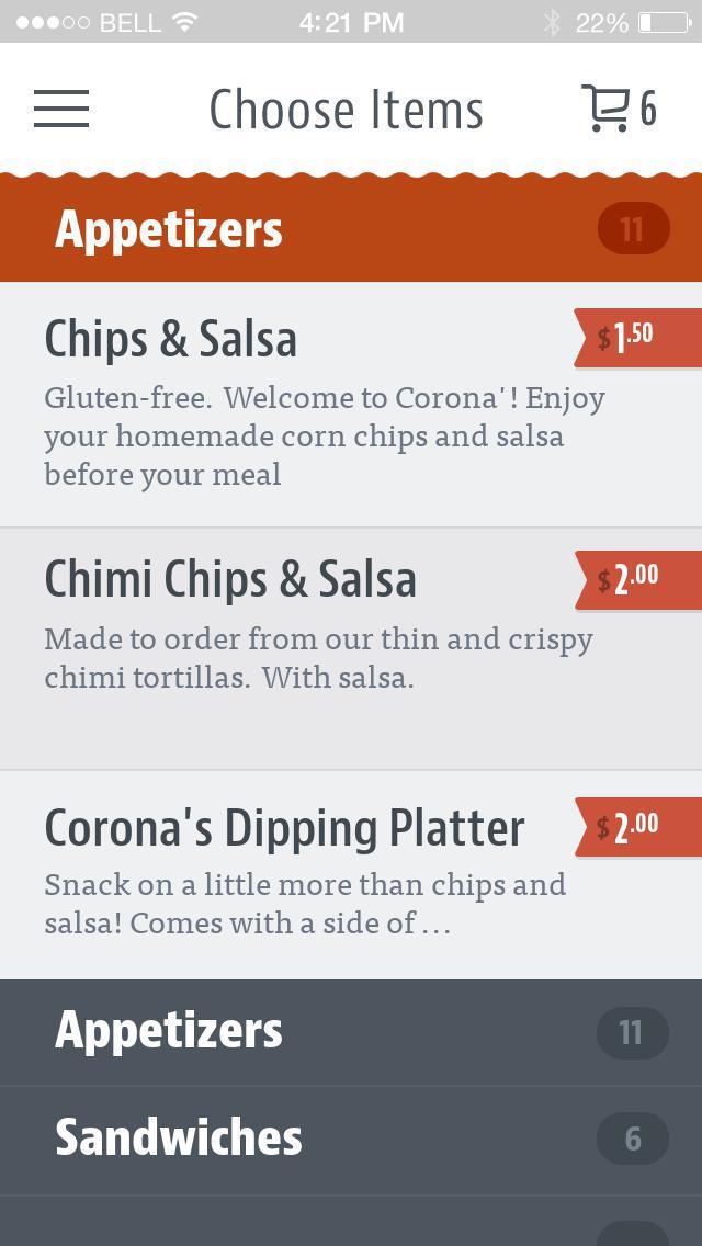 Corona's Mexican Grill screenshot 3