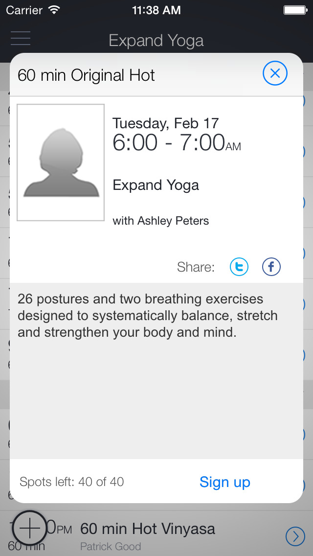 Expand Yoga screenshot 2