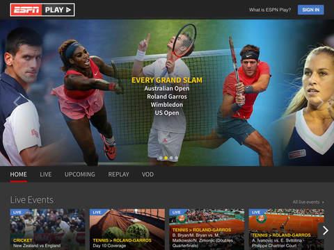 ESPNPlay Caribbean screenshot 4