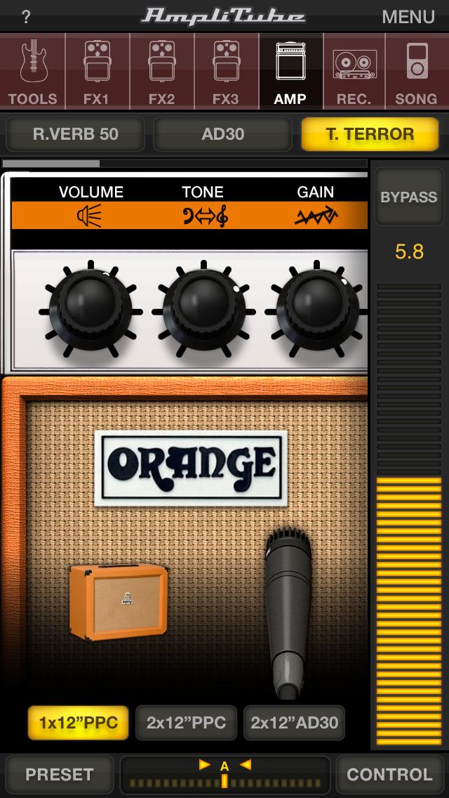 AmpliTube Orange screenshot 1