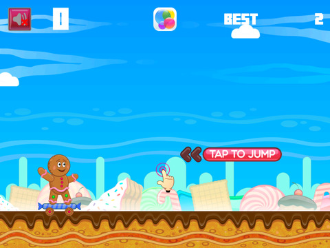 Crazy Gingerbread Skater screenshot 3