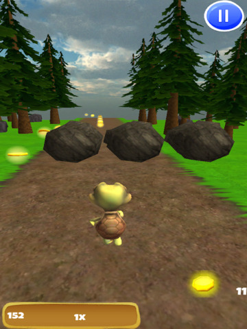 A Turtle Power Run: 3D Endless Runner Game - FREE Edition screenshot 7