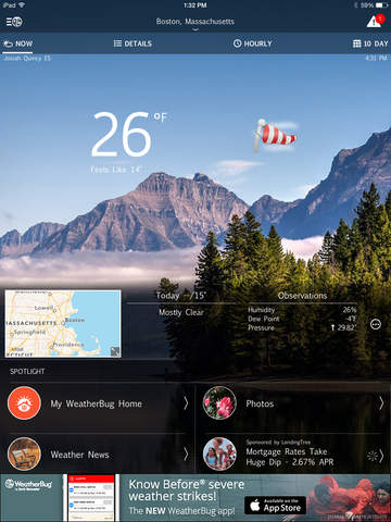WeatherBug – Weather Forecast screenshot 6
