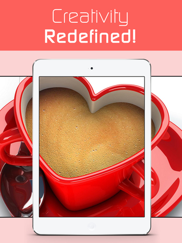 Love Wallpapers HD, Romantic Backgrounds & Valentine's Day Cards screenshot 8