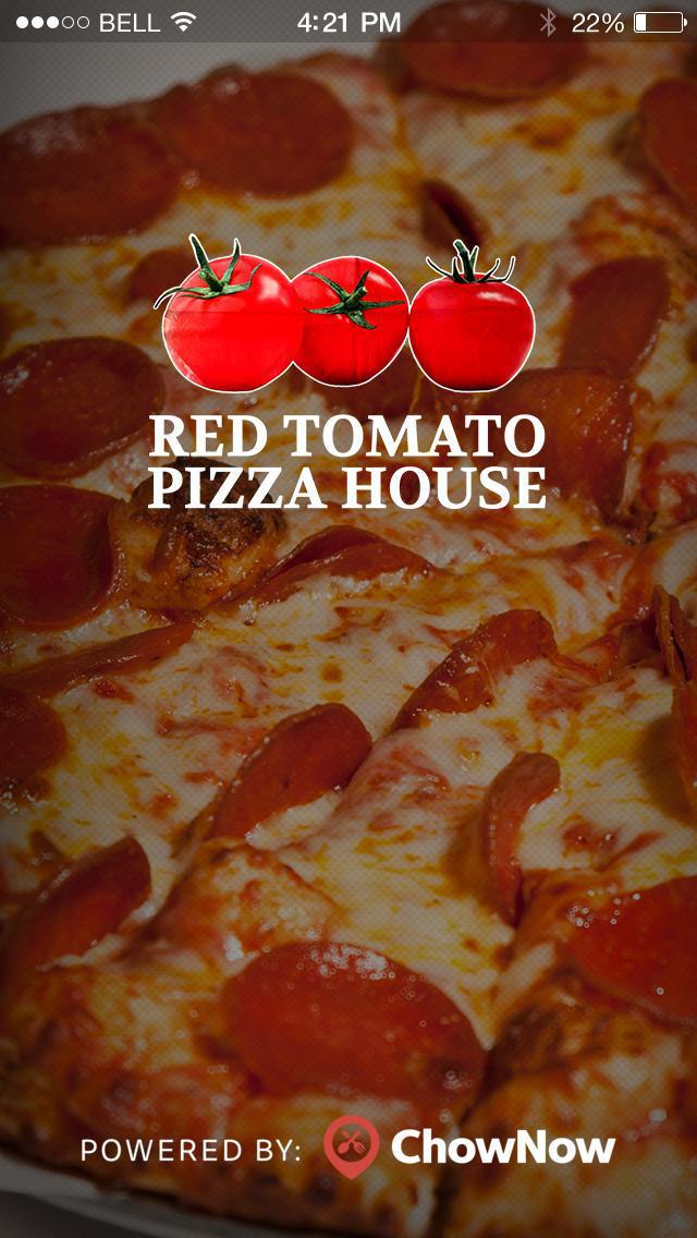 Red Tomato Pizza House screenshot 1