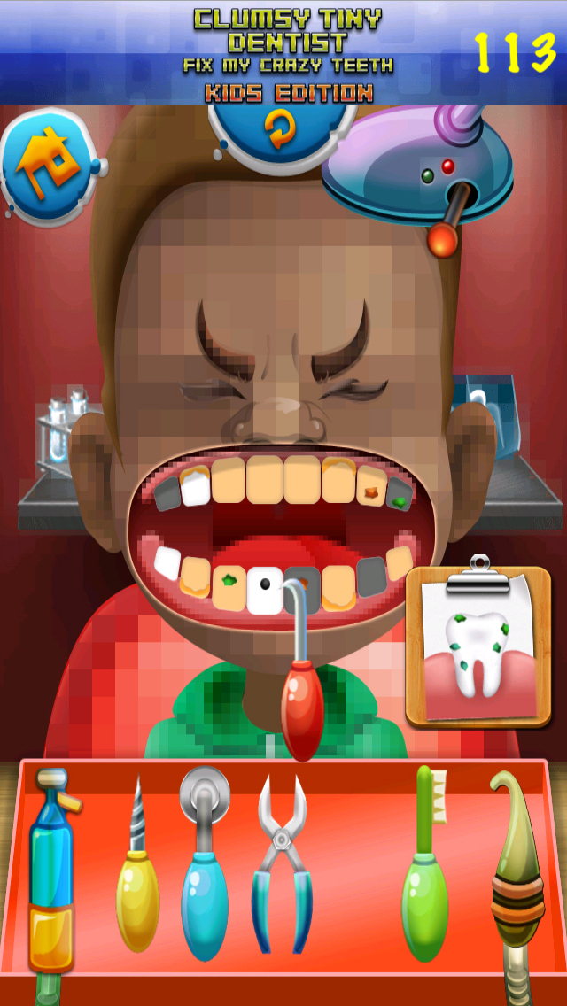 Aaah! Clumsy Tiny Dentist Fix My Crazy Teeth! - PRO Kids Edition screenshot 5