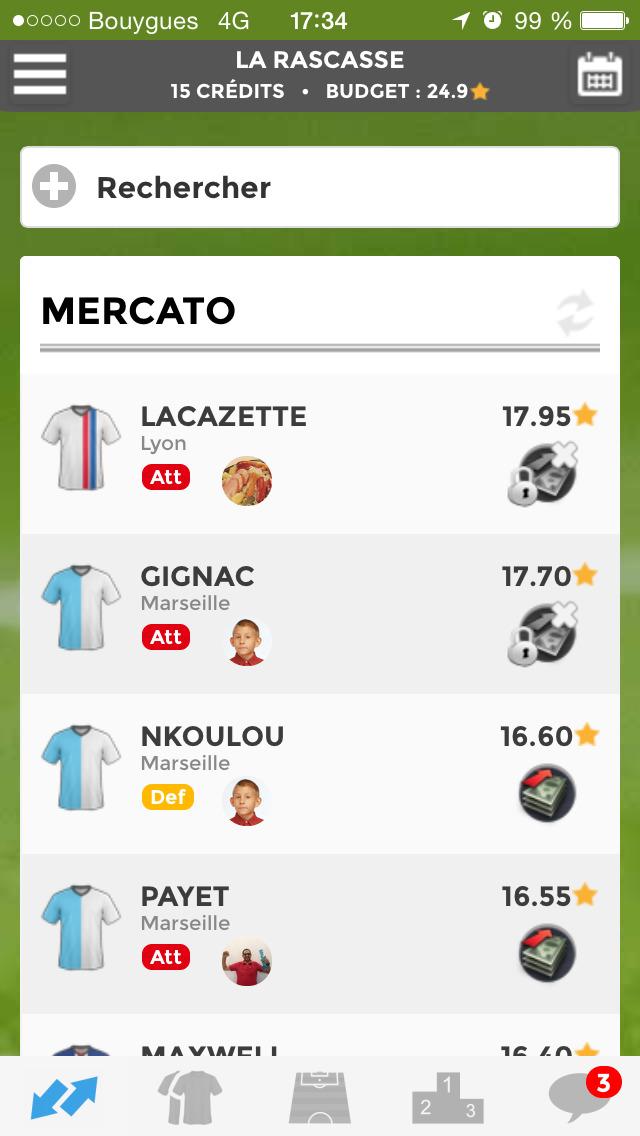 Le Championnat des Etoiles screenshot 2