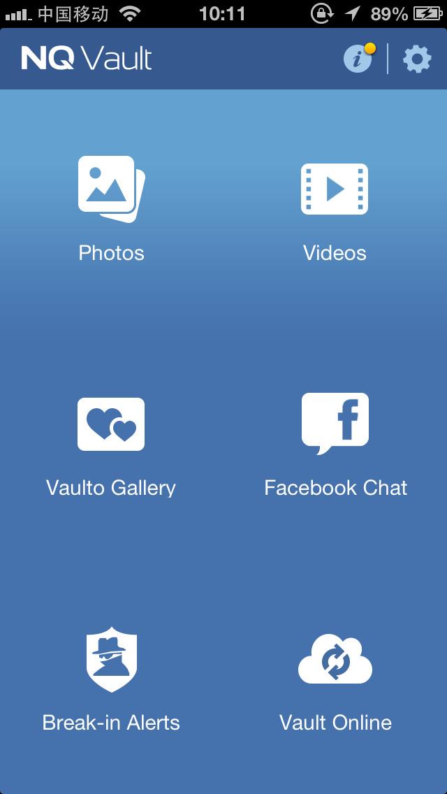 Photo Vault App Backup
