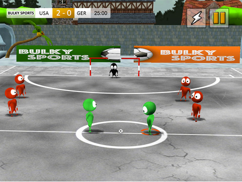 Alby Street Soccer 2015 - Real football game for big soccer stars by BULKY SPORTS screenshot 6