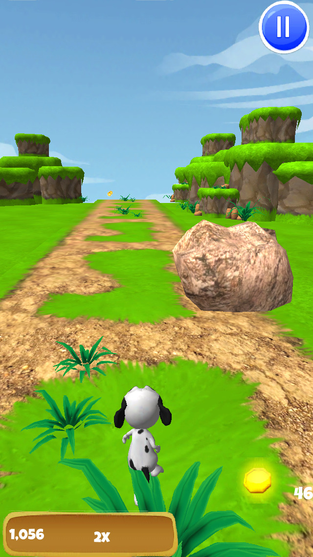 A Dog Runner: Doggie Race Game - FREE Edition screenshot 2