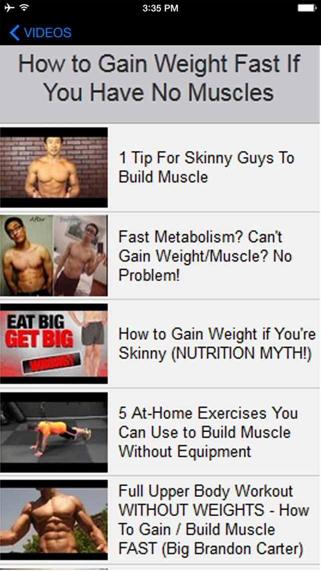 A+ How To Gain Weight & Muscle Fast - Best Effective Guide
