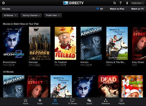 DIRECTV App for iPad screenshot 2