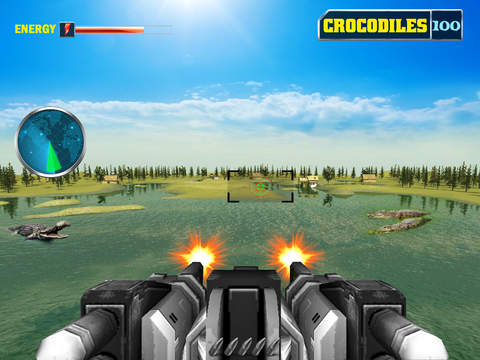 Crocodile Shooter 3D screenshot 8