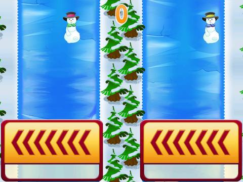 Frozen Snowmen Racer - Winter Fall Free Edition screenshot 2