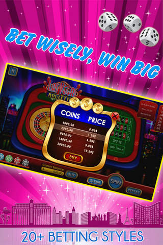 Las Vegas Roulette — Free Big Casino Game - náhled
