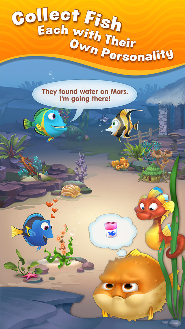 Fishdom screenshot 2