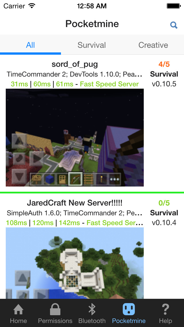 Plug for Minecraft screenshot 3