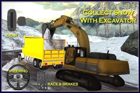 Snow Plow Truck Driver 3D Simulator - Drive snowbl - náhled