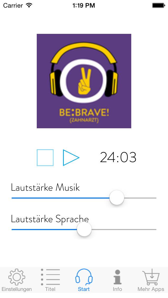 Be Brave! Keine Angst vorm Zahnarzt mit Hypnose - für Jugendliche screenshot 3