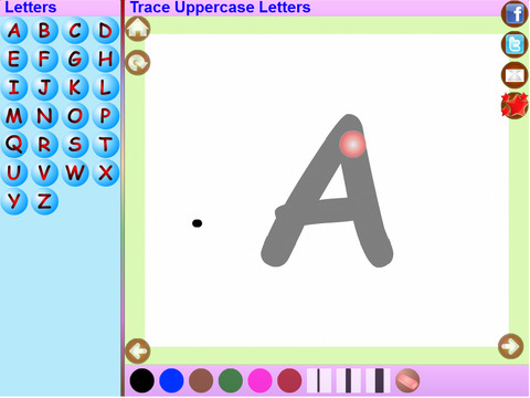 Trace Kannada and English Alphabets Kids Activity screenshot 6
