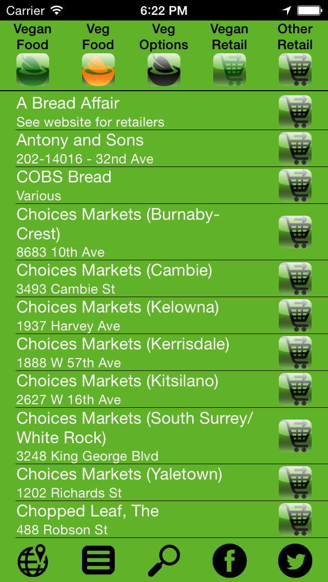 Meatless Monday Canada - Vancouver Veg screenshot 3