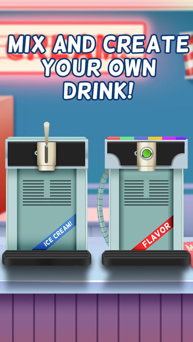 Awesome Ice Cream Milkshake Smoothie Parlor Maker screenshot 2