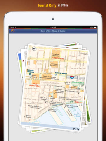 Montreal Tour Guide: Best Offline Maps with Street View and Emergency Help Info screenshot 6