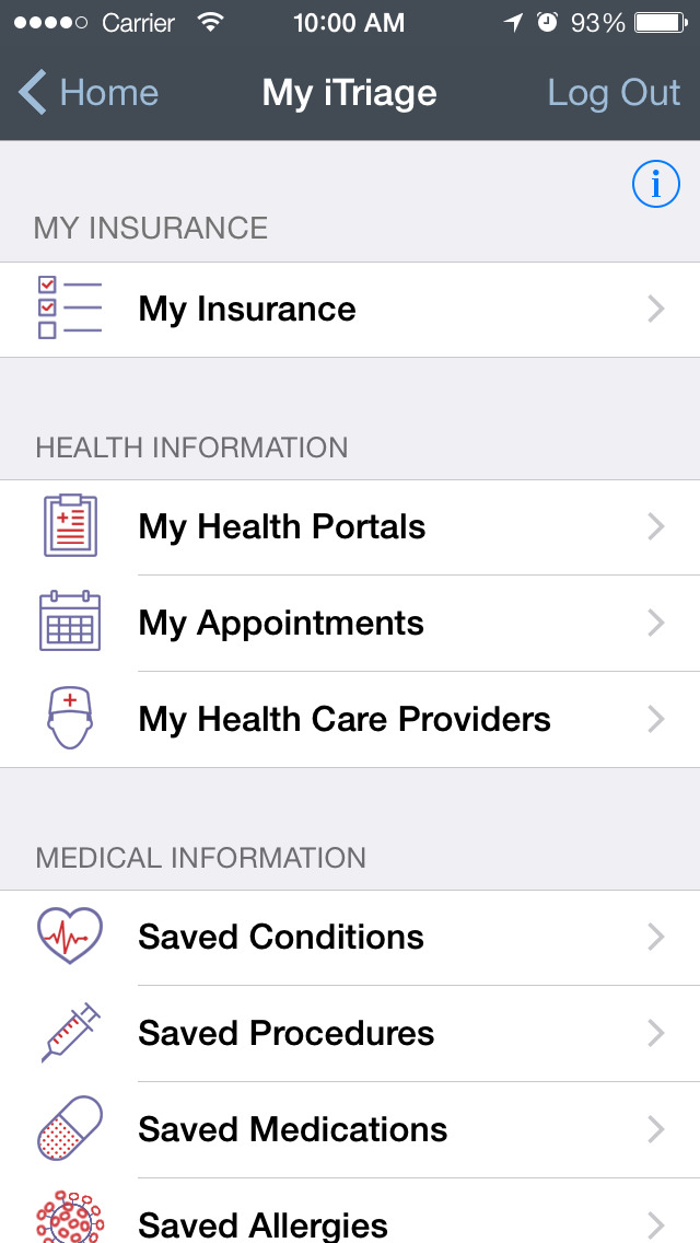 iTriage - Health, Doctor, and Symptoms search screenshot 3