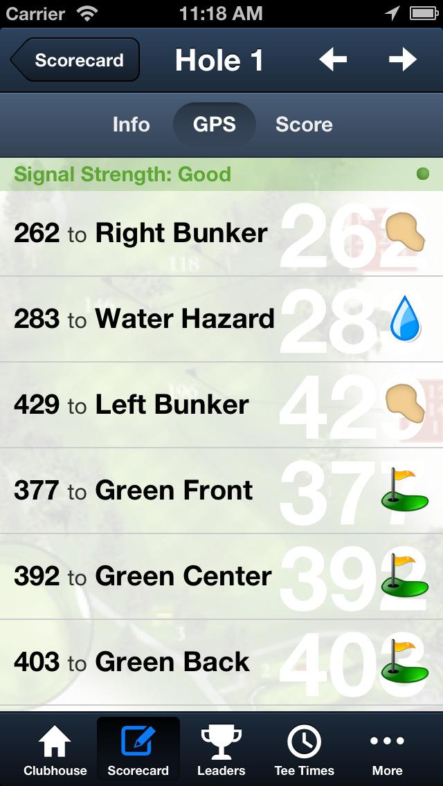 The OU Golf Club screenshot 4