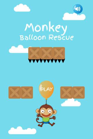 Monkey Balloon Rescue - náhled