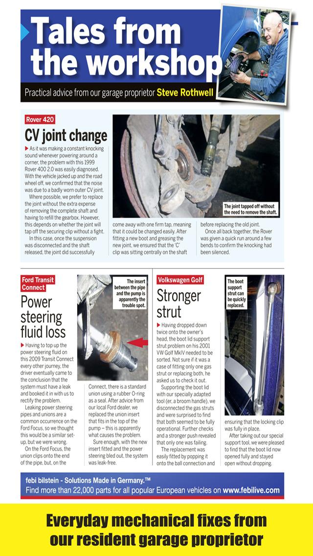 Car Mechanics Magazine screenshot 5