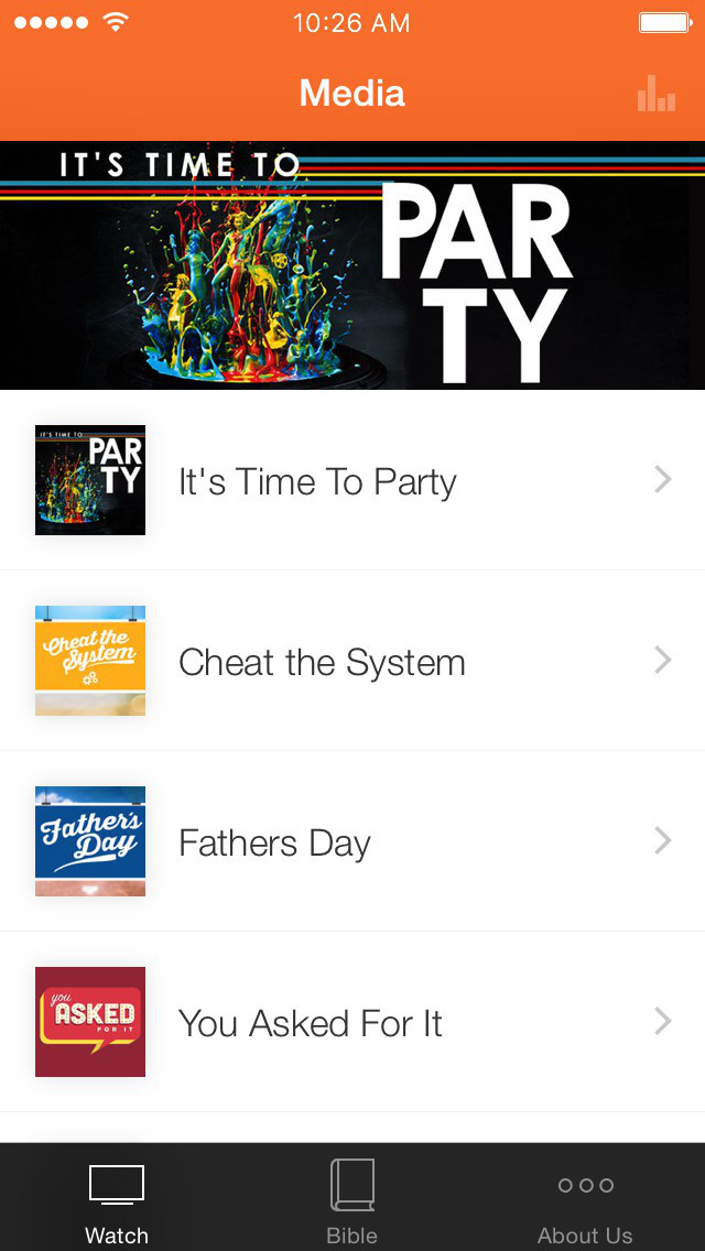 The Community Church App screenshot 1