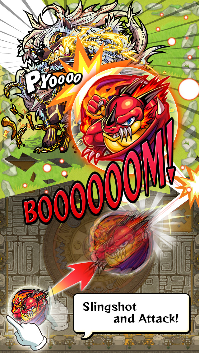 Monster Strike screenshot 4