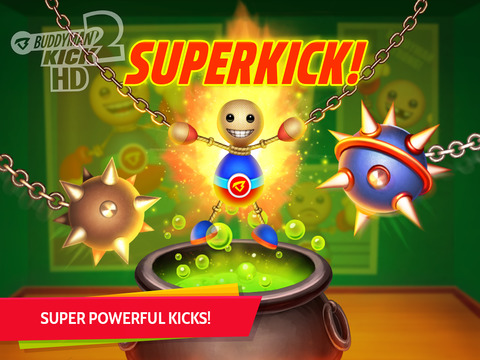Buddyman: Kick 2 HD (by Kick the Buddy) screenshot #2