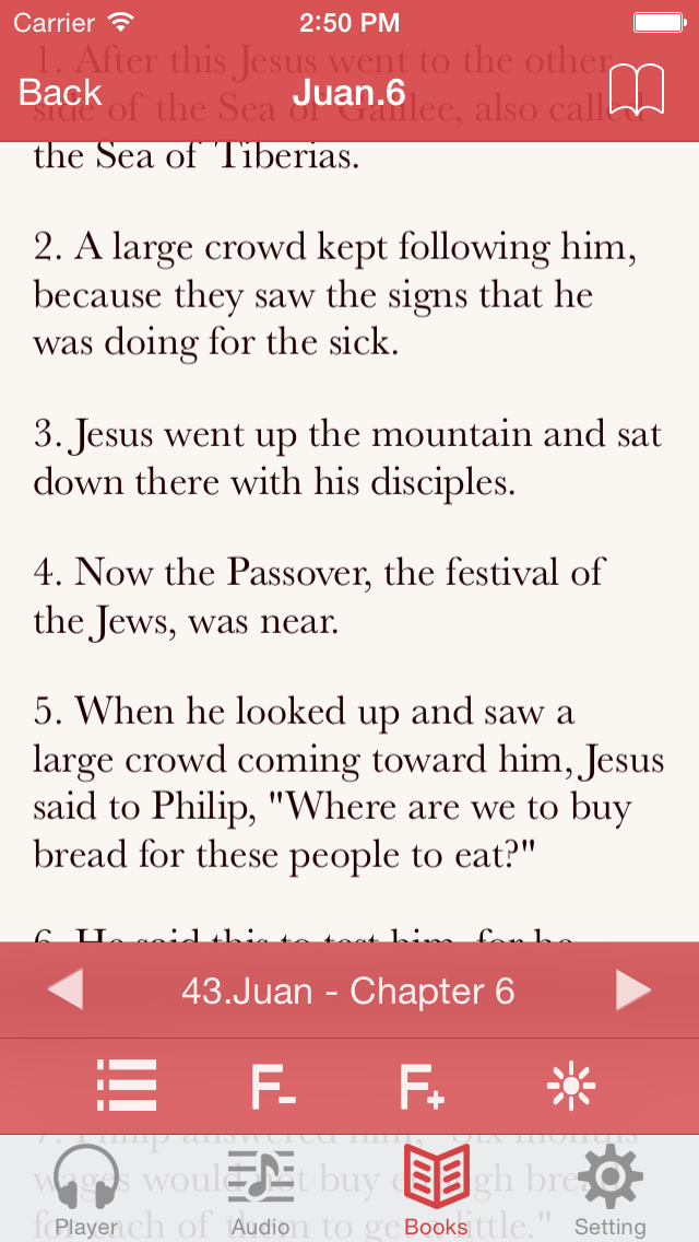 NRSV Bible (Audio & Book) screenshot 4