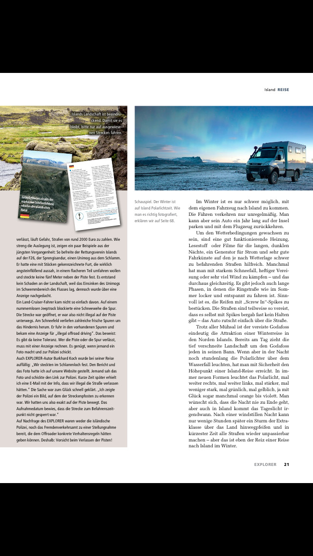 EXPLORER Magazin screenshot 5