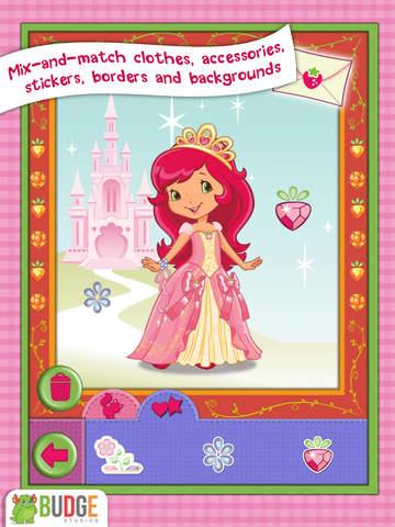 Strawberry Shortcake Card Maker Dress Up - Fashion Makeover Game for Kids screenshot 7