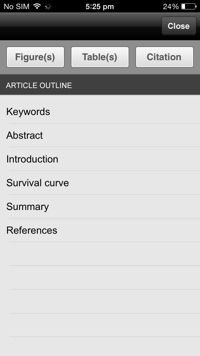 MSK Physiotherapy Journal screenshot 2