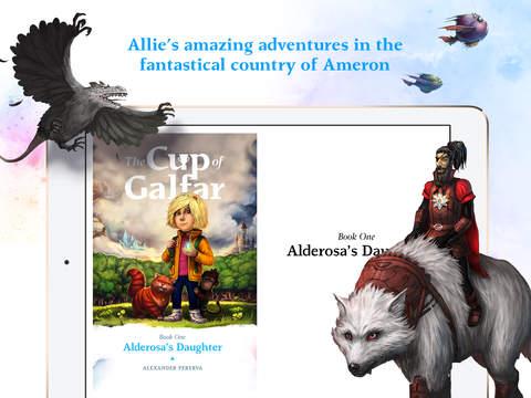 The Cup of Galfar: Fantasy story and hero's novel screenshot 6