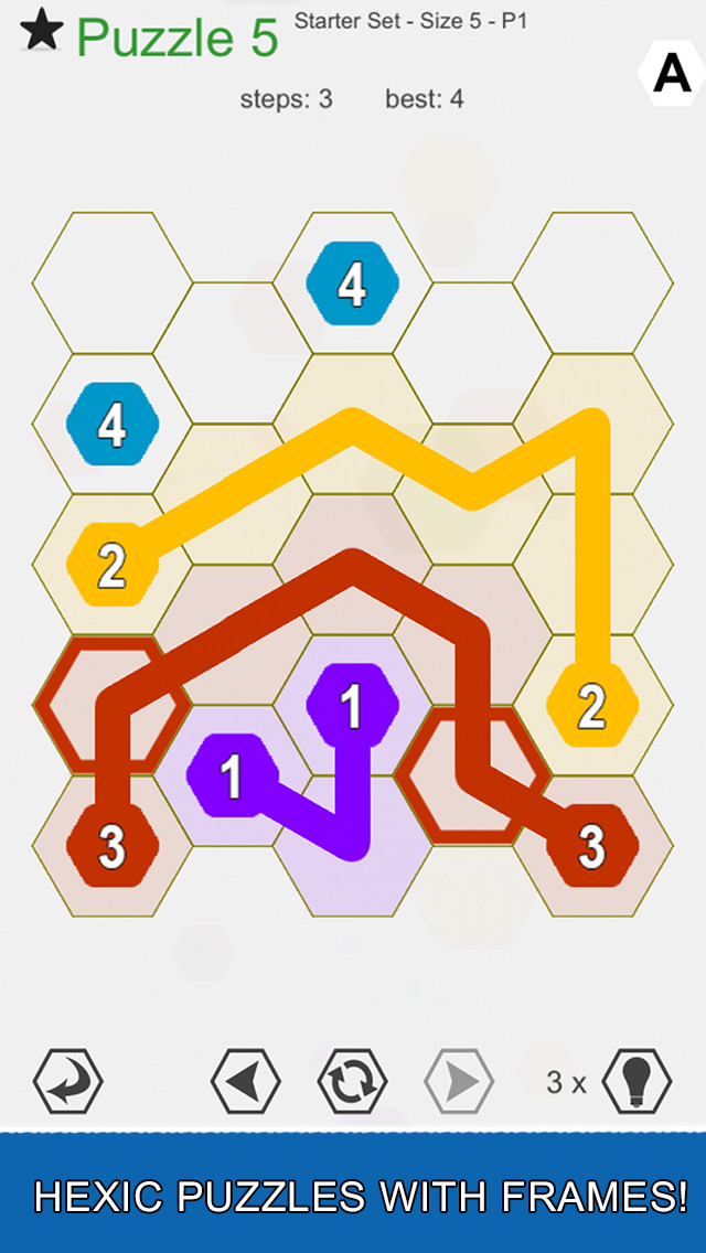 Hexic Link: Frames screenshot 1
