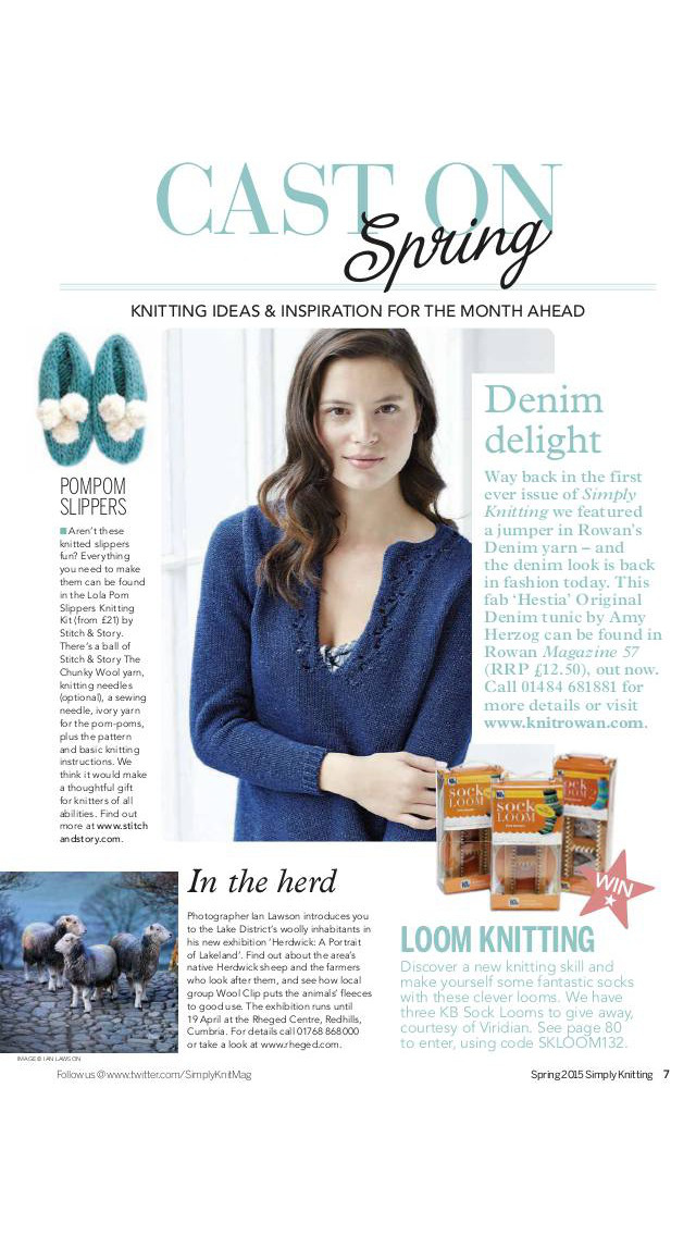 Simply Knitting Magazine screenshot 2