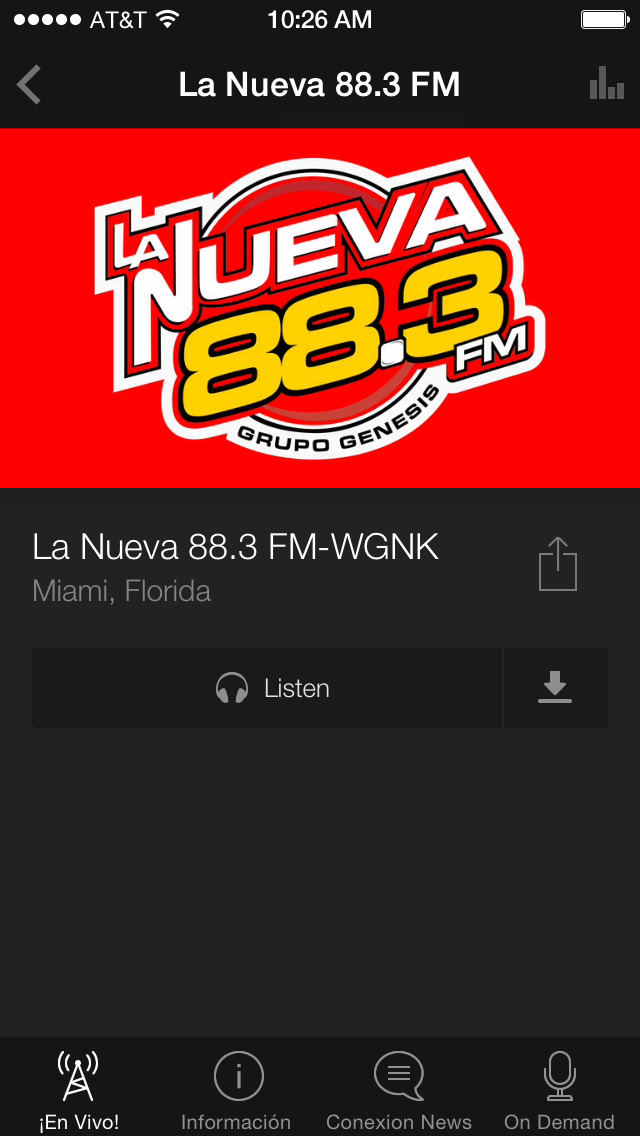 LaNueva883 screenshot 3